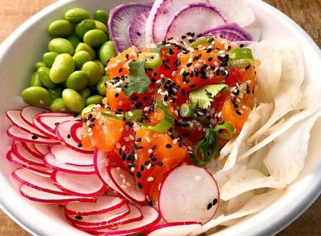 Poké Bowl saumon Kauai sur base de quinoa, PETIT REGAL