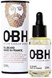 Huile à Barbe 100 % Naturelle OBH   Le Soin Premium pour Homme  Faites confiance à Mère Nature pour Nourrir et Sublimer votre Barbe  Parfum Frais et Léger  Made in France