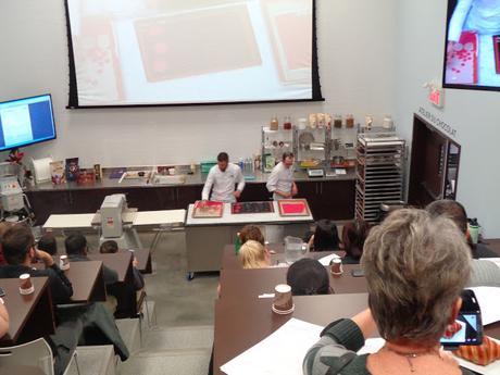 Démo Viennoiseries avec Johan Martin à la Chocolate Academy