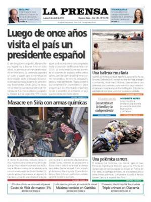 Les métaphores osées du Président argentin [Actu]