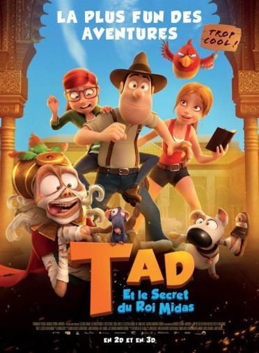 TAD et Le Secret du Roi Midas, la bande-annonce