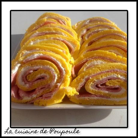 Rolls jambon fromage au thermomix ou sans (sans gluten)