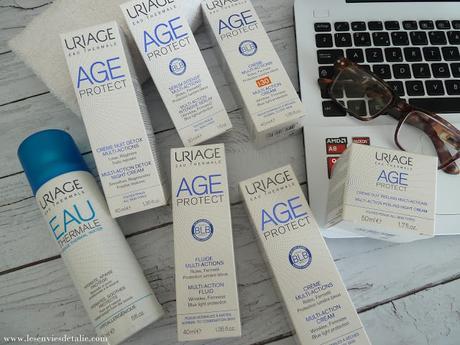 Age Protect, la gamme anti-âge et anti-lumière bleue signée Uriage