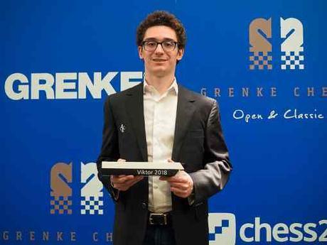 Le joueur d'échecs américain Fabiano Caruana remporte le Grenke Chess Classic - Photo © site officiel