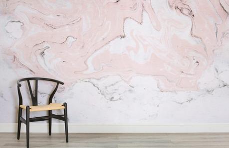 marbre pastel décoration intérieure