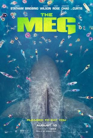 [Trailer] The Meg : En eaux troubles : Jason Statham tabasse du gros requin !