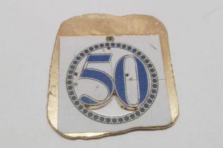 fabrication pendentif en or avec pierre de lapis