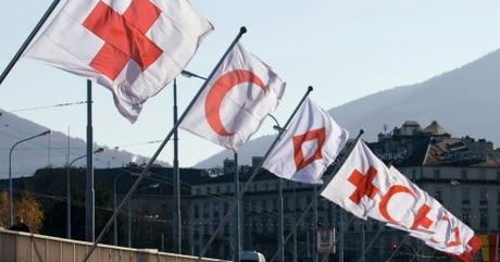 L'Humanité dispose de trois emblèmes de protection. La Croix-Rouge, le Croissant-Rouge et le… ?