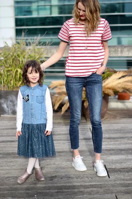 Un look mère fille en Heidi Klum pour Lidl (oui oui ! )