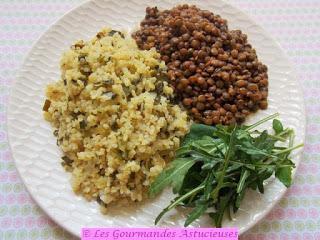 Plat complet, équilibré et plein de saveurs (Vegan)