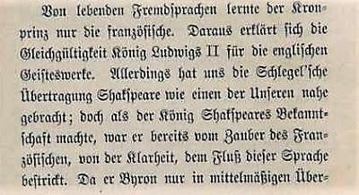 Question d'histoire: Nouvelles révélations sur l'affaire Vanderpoole / Le roi Louis II a-t-il lu Edgar Allan Poe?