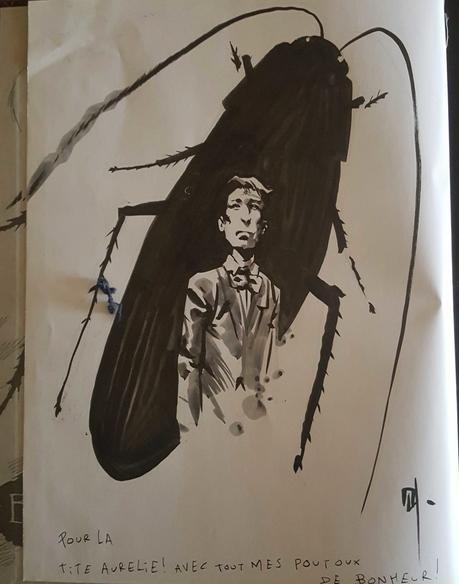 La Métamorphose de Franz Kafka de Corbeyran et Horne