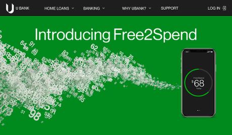 UBank – Introducing Free2Spend