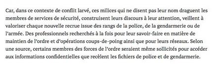 Des forces de l'ordre radicalisées… par l'extrême-droite #acab++