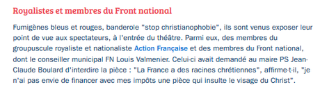 #lemans : les bas de plafond n'aiment pas les concepts culturels #FN #ActionFrançaise