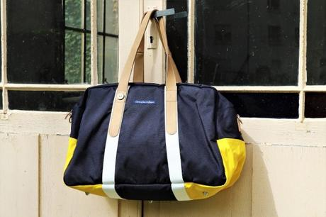 Le sac week-end ultra pratique et tendance de Faguo x Armor Lux