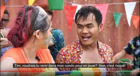 Songkran 2018 en Thaïlande, Mode d'emploi en vidéo, sous titres en français