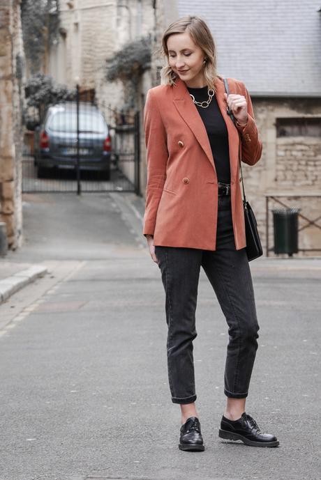 Elegante en mom jean