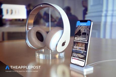 Apple : un premier concept du futur casque premium de la marque