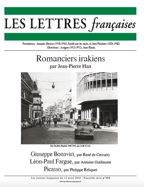 N° 159 – Les Lettres Françaises du 12 avril 2018