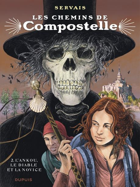 Les chemins de Compostelle, tome 2 – L'ankou, le diable et la novice