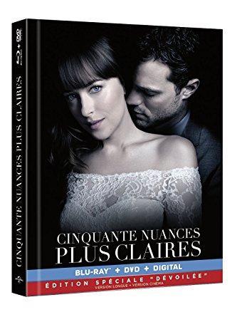 Le point sur les différentes éditions des DVD et Blu Ray pour Cinquante Nuances plus claires