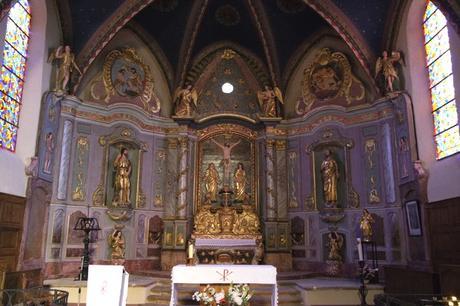 france lot quercy loubressac église rando