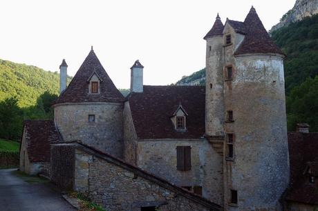 france lot quercy loubressac rando autoire château limargue