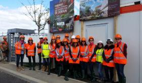 Visite de chantier Diver'city à Montpellier
