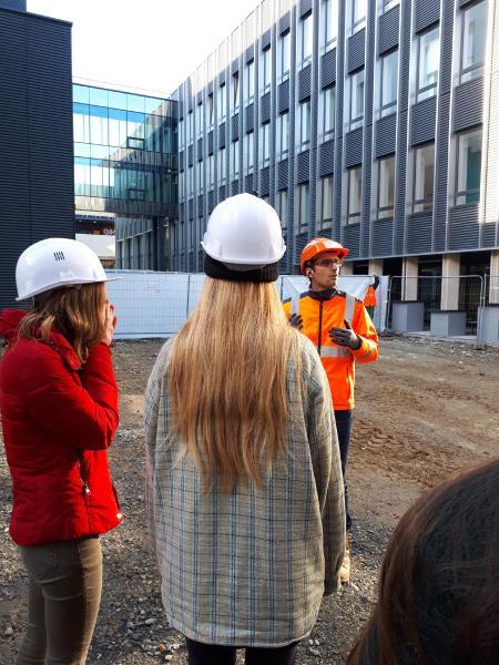 Visite de chantier à Nantes