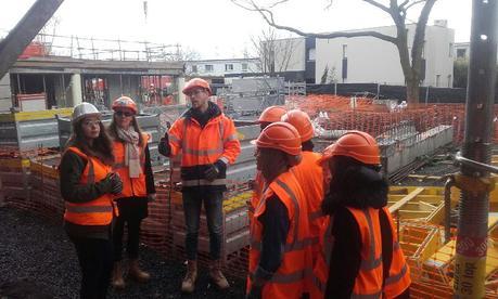 Visite de chantier à Lille