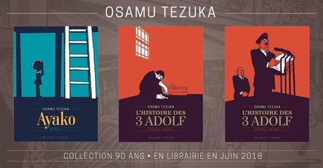 Une nouvelle édition pour les mangas Ayako et L'Histoire des 3 Adolf d'Osamu TEZUKA chez Delcourt/Tonkam