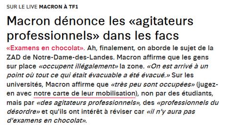 Le pied de nez de #Tarnac à #Macron passe par #NDDL