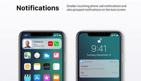 iOS 12 : un concept avec des modes «Sombre» & «Invité»