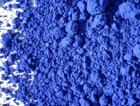 pigment bleu outremer véritable