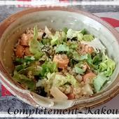 Salade Quinoa & Laitue & Noix - Complètement Kakou !