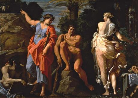 carrache-le-choix-d-hercule-1596 Capodimonte Naples