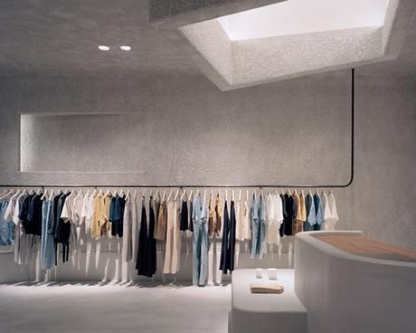 Un magasin de vêtements à Melbourne inspiré par l'architecture brutaliste