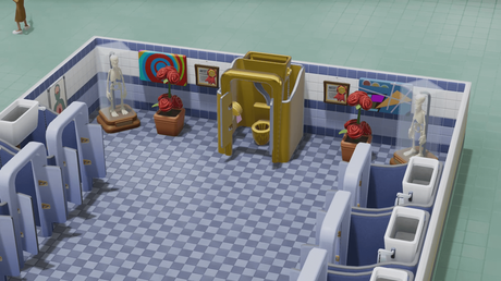 two point hospital toilettes en or 1