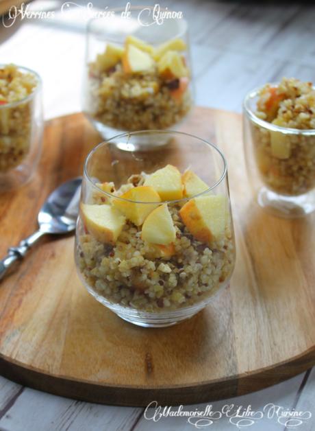 Verrines sucrées de Quinoa