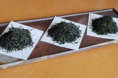 Trois gyokuro vintage de Kyô-Tanabe