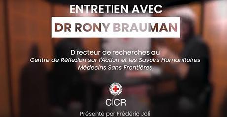 Conversation avec… Rony Brauman à propos de son livre «Guerres humanitaires ? : mensonge et intox»