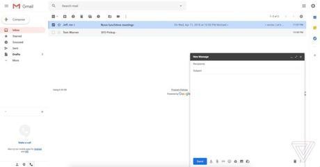 Gmail va changer légèrement de design.