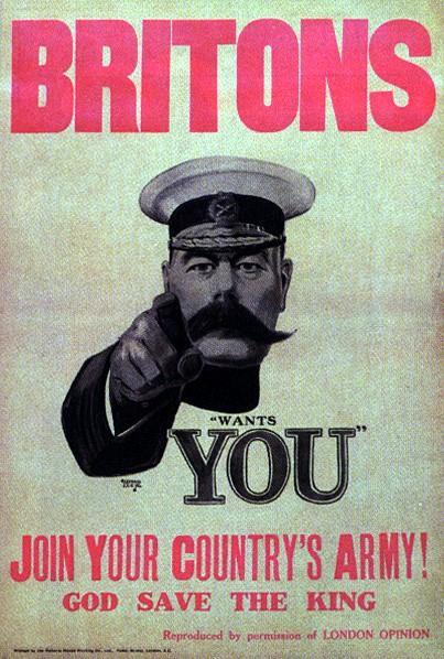 WW1 GB 1914 Kitchener 2