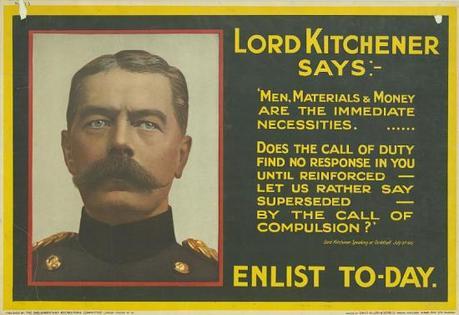WW1 GB 1915 UK Parliamentary Recruiting Committee Kitchener