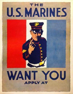 WW1 US Marine 1917