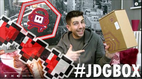 Nouvelle JDGBOX 23 ! Une Box pleine d'amour GEEK ! (Avril 2018)
