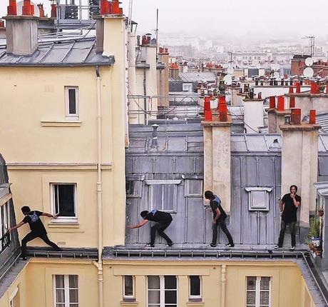 En balade sur les toits de Paris