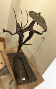 Galerie Vagabonde à Selles sur cher  exposition  André DENIS jusqu'au 29 Avril 2018