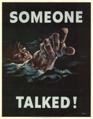 WW2 USA SOMEONE TALKED SIEBEL, FRED 1942